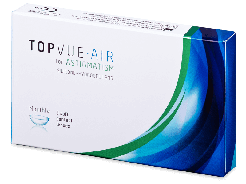 TopVue Air for Astigmatism (3šošovky) - Tórické kontaktné šošovky