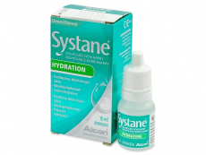 Kontaktné šošovky - Očné kvapky Systane Hydration 10 ml