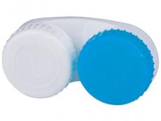 Príslušenstvo - Puzdro na šošovky modro-biele so znakmi L+R
