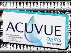 Acuvue Oasys with Transitions (6 šošoviek)