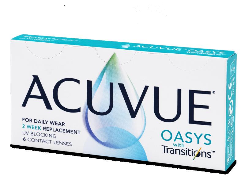 Acuvue Oasys with Transitions (6 šošoviek) - Štrnásťdenné kontaktné šošovky