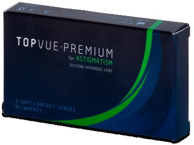 TopVue Premium for Astigmatism (3šošovky) - Tórické kontaktné šošovky