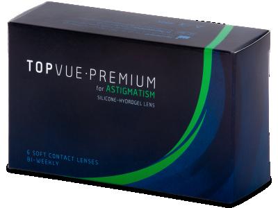 TopVue Premium for Astigmatism (6šošoviek) - Torické kontaktné šošovky