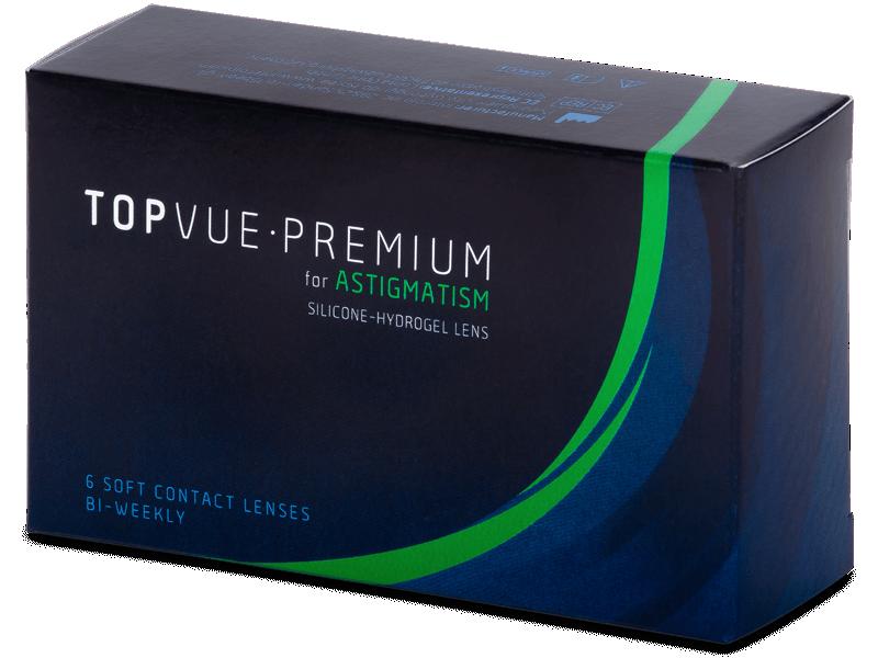 TopVue Premium for Astigmatism (6šošoviek) - Tórické kontaktné šošovky