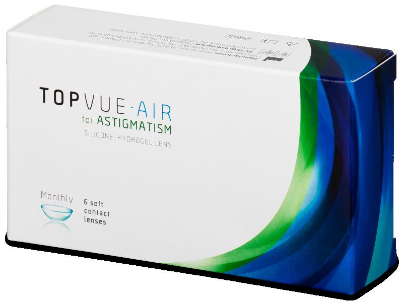 TopVue Air for Astigmatism (6šošoviek) - Torické kontaktné šošovky