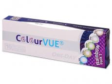 Kontaktné šošovky Maxvue Vision - ColourVue One Day TruBlends Rainbow - nedioptrické (10šošoviek)