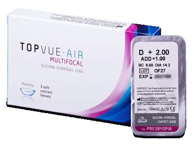 TopVue Air Multifocal (1šošovka)