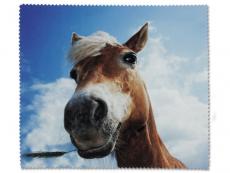 Príslušenstvo k okuliarom - Čistiaca handrička na okuliare - kôň
