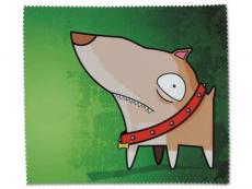 Príslušenstvo - Čistiaca handrička na okuliare - pes