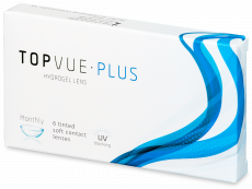 TopVue Plus (6 šošoviek) - Mesačné kontaktné šošovky