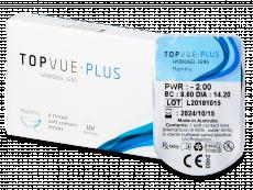 TopVue Plus (1 šošovka) - Mesačné kontaktné šošovky