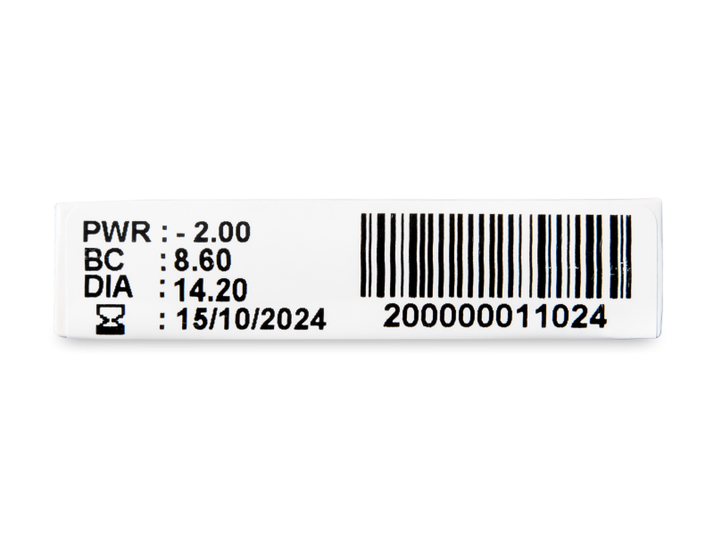 TopVue Plus (1 šošovka) - Náhľad parametrov šošoviek