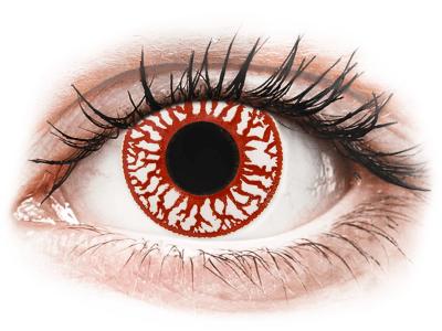 ColourVUE Crazy Lens - Blood Shot - jednodenné nedioptrické (2šošovky)