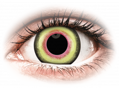 ColourVUE Crazy Lens - Mad Hatter - jednodenné nedioptrické (2šošovky)