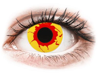ColourVUE Crazy Lens - Reignfire - jednodenné nedioptrické (2šošovky)