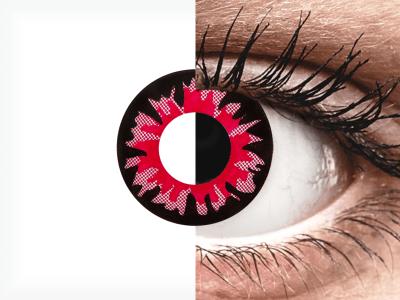 ColourVUE Crazy Lens - Volturi - jednodenné nedioptrické (2šošovky)