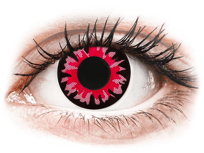 ColourVUE Crazy Lens - Volturi - jednodenné nedioptrické (2šošovky) - Coloured contact lenses