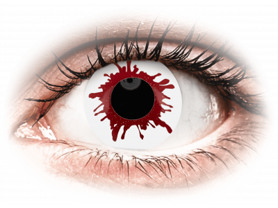 ColourVUE Crazy Lens - Wild Blood - jednodenné nedioptrické (2šošovky)