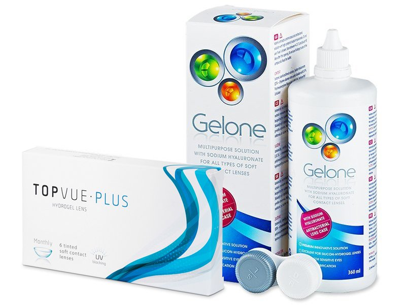 TopVue Plus (6 šošoviek) + Gelone 360 ml
