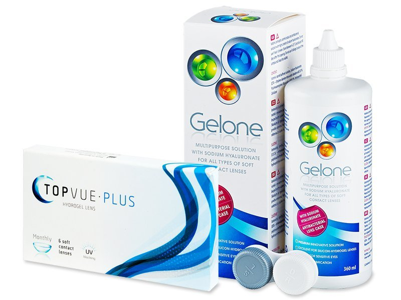 TopVue Plus (6 šošoviek) + Gelone 360 ml - Starší vzhľad