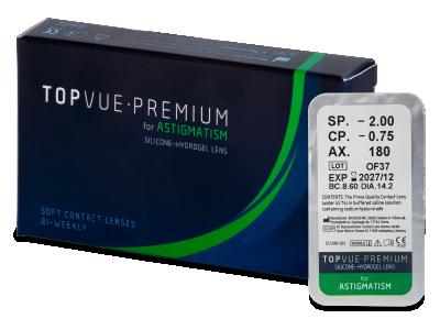 TopVue Premium for Astigmatism (1 šošovka)