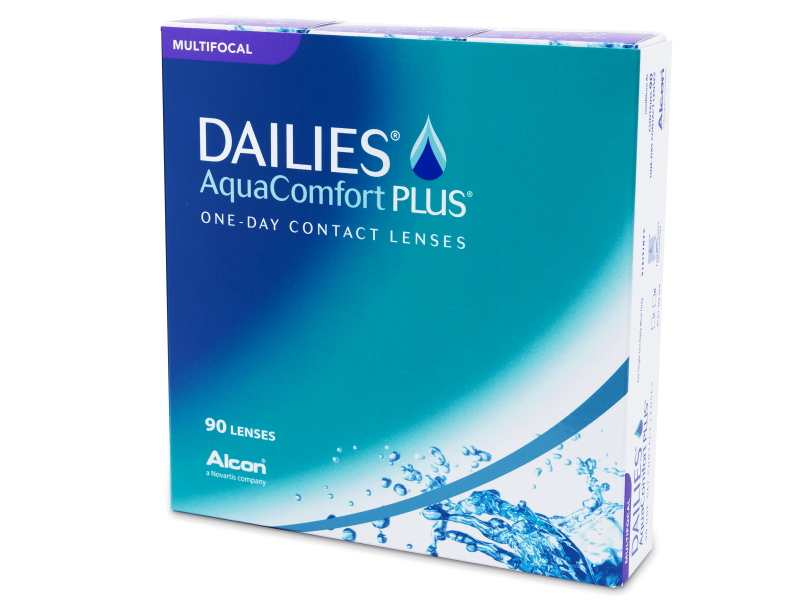 Dailies AquaComfort Plus Multifocal (90 šošoviek)