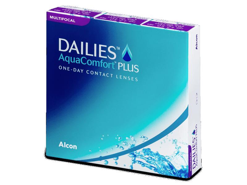Dailies AquaComfort Plus Multifocal (90šošoviek) - Multifokálne kontaktné šošovky