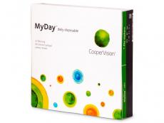Kontaktné šošovky - MyDay daily disposable (90šošoviek)