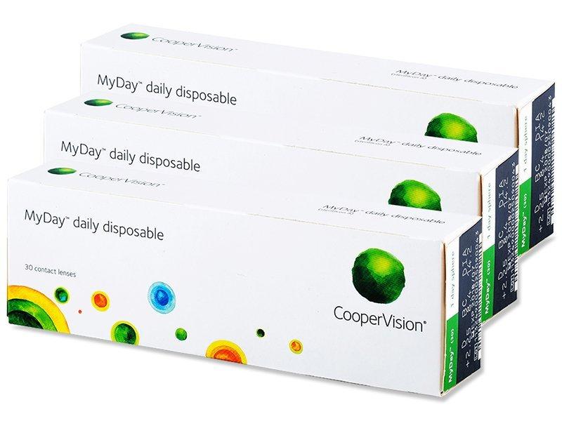 Jednodenné kontaktné šošovky