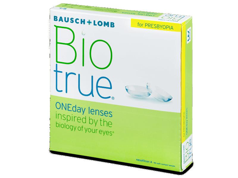 Biotrue ONEday for Presbyopia (90 šošoviek) - Jednodenné kontaktné šošovky