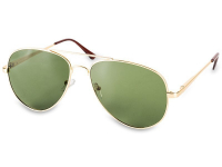 Slnečné okuliare Pilot - polarizované  - model: Gold - polarized