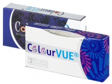 Kontaktné šošovky Maxvue Vision - ColourVUE - Fusion - dioptrické (2 šošovky)