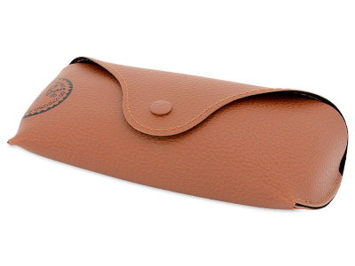 Slnečné okuliare Ray-Ban Original Wayfarer RB2140 - 902/57 Polarized  - Original leather case (illustration photo)