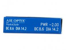 Air Optix plus HydraGlyde (3šošovky)