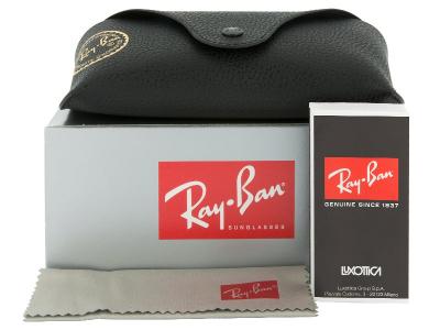 Slnečné okuliare Ray-Ban Justin RB4165 - 622/2V POL  - Preview pack (illustration photo)
