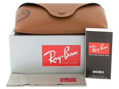 Slnečné okuliare Ray-Ban Justin RB4165 - 865/T5 POL  - Preview pack (illustration photo)