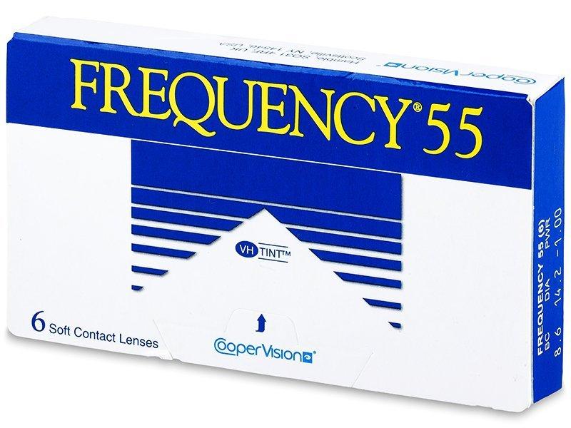 7dbf2d43c Kontaktné šošovky Frequency 55 (6 šošoviek)