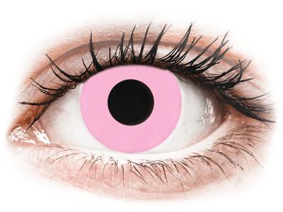 CRAZY LENS - Barbie Pink - nedioptrické jednodenné (2 šošovky)