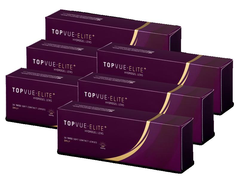TopVue Elite+ (180šošoviek) - Jednodenné kontaktné šošovky