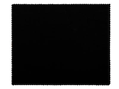 Čistiaca handrička na okuliare - čierna