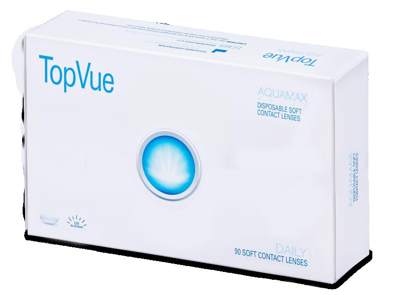 TopVue Daily (90šošoviek) - Jednodenné kontaktné šošovky