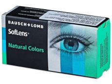 Farebné kontaktné šošovky - SofLens Natural Colors - nedioptrické (2šošovky)