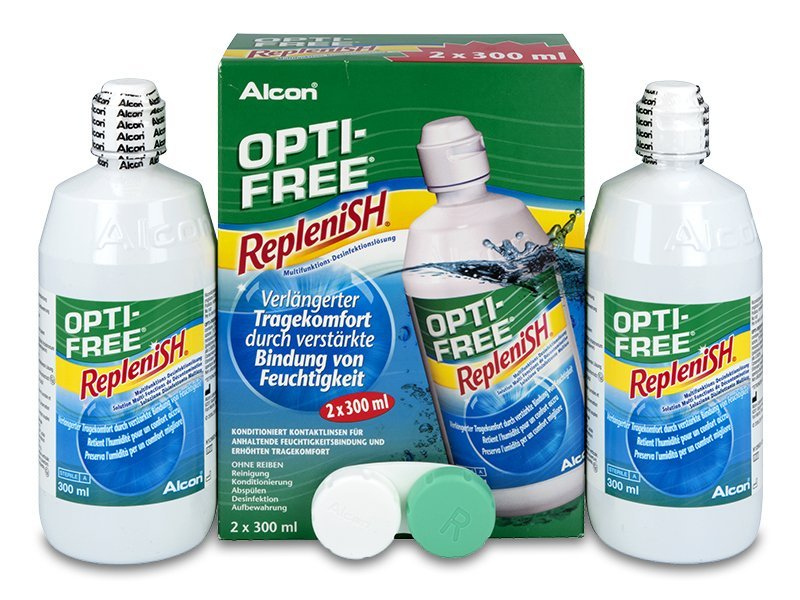 417cde22a Roztok OPTI-FREE RepleniSH 2 x 300 ml od 17.59 €