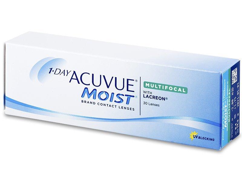 1 Day Acuvue Moist Multifocal (30 šošoviek) - Torické kontaktné šošovky