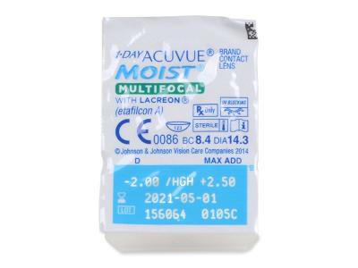 1 Day Acuvue Moist Multifocal (90 šošoviek)