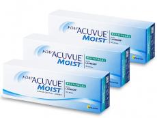 Multifokálne kontaktné šošovky - 1 Day Acuvue Moist Multifocal (90 šošoviek)