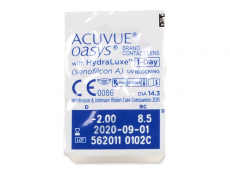 Acuvue Oasys 1-Day with Hydraluxe (90šošoviek)