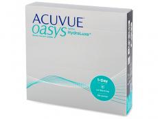 Kontaktné šošovky - Acuvue Oasys 1-Day with Hydraluxe (90šošoviek)