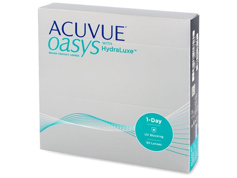 Acuvue Oasys 1-Day with Hydraluxe (90šošoviek) - Jednodenné kontaktné šošovky - Johnson and Johnson