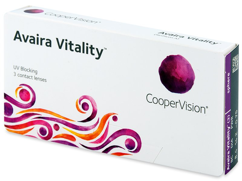 Avaira Vitality (3 šošovky) - Contact lenses - Cooper Vision